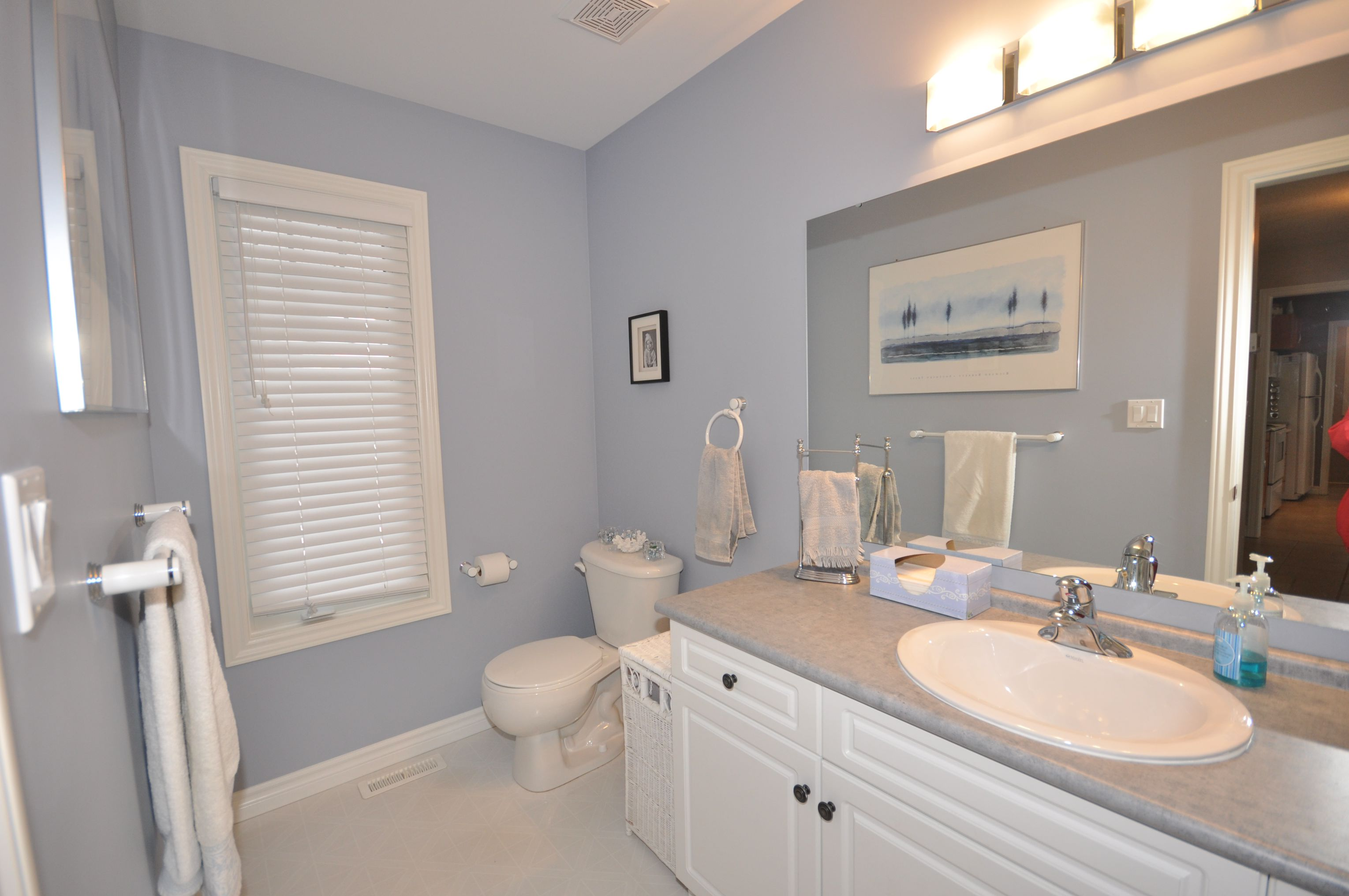 Large main floor powder room