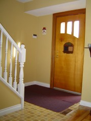 Spacious front foyer