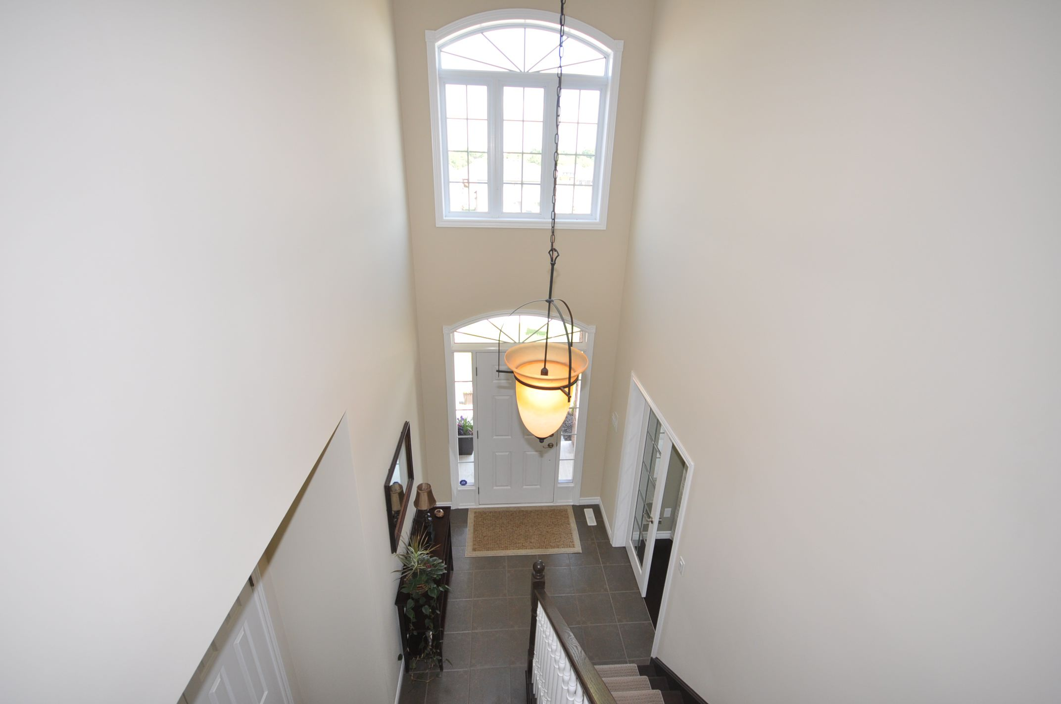 View of the foyer from the 2nd level