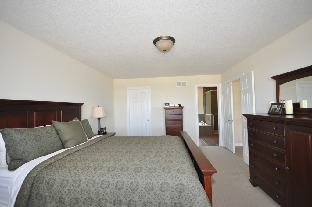 Spacious Master Bedroom with walk in closet