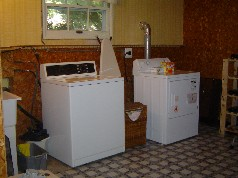 Large laundry room on the 3rd level