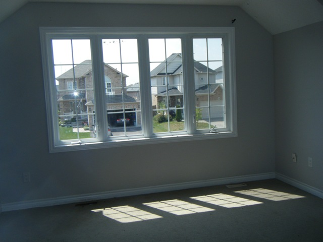 Picture Windows in Front Bedroom