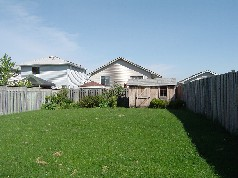 Huge privacy fenced yard, great for the children to play or summer bbq