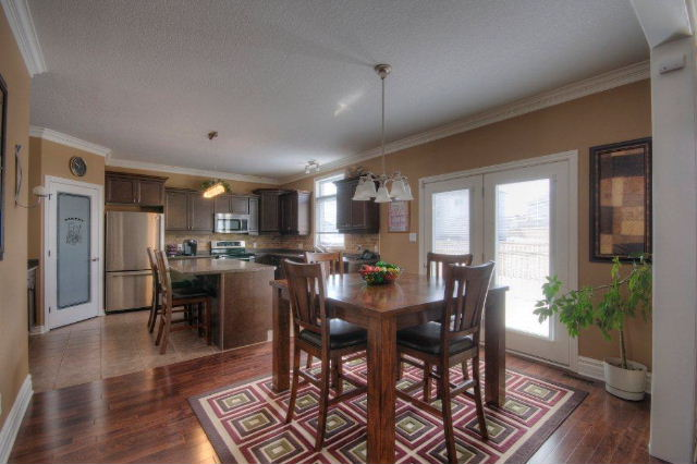 Open Concept with doors to Sundeck