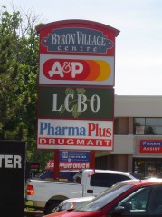 One stop shopping in nearby Byron