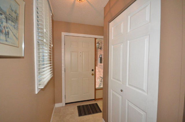 Foyer showing hall closet