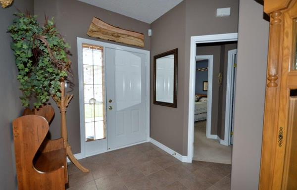 Front Foyer with view of Door to Guest Suite