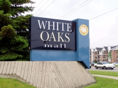 A short drive to White Oaks Mall for all your shopping needs.