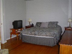 Upstairs are 4 nice sized bedrooms with warm hardwood flooring
