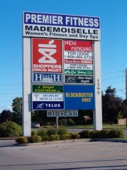 Strip mall at Huron and Highbury for all your needs from fitness to video