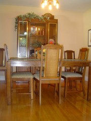 Enjoy a gourmet dinner in your formal dining room