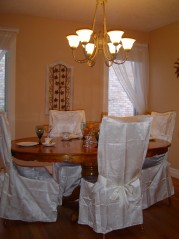 Formal Dining room with gleaming hardwood and french doors