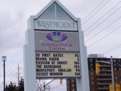 Convenient shops & theatres at Westmount Mall just minutes away