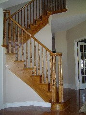 Beautiful oak staircase