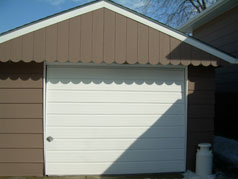 Detached oversized garage with hydro and concrete floor