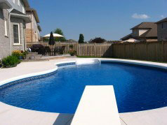 17 by 33 heated pool - open now!