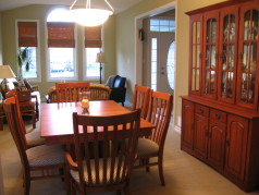 Living-Dining room combo