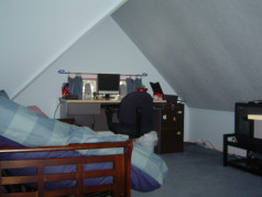 Attic has been updated with 2 bedrooms and a common area
