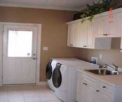 Large main floor laundry room